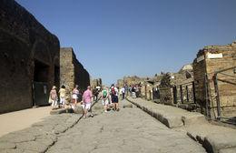 Pompeii streets , prasanna - September 2015