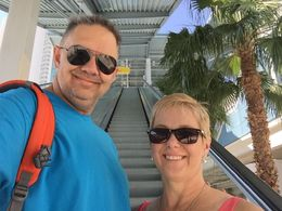 The Monorail is one of the best ways to get around Vegas, in our opinion! , SS B - June 2015