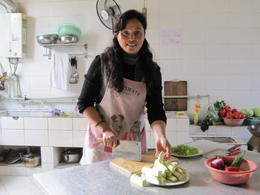 Teaching how to cook Sichuan dishes - May 2012