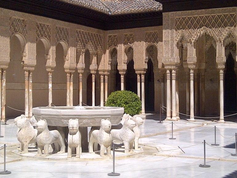 The lion's court at the Alhambra - Malaga