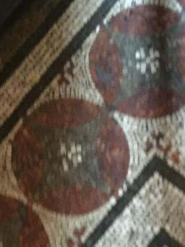 I loved the intricate beautiful floors in the Vatican museums , Julia E - August 2016