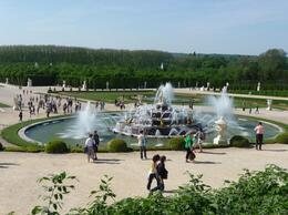 Versailles Garden fountains - July 2012