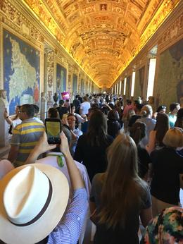 On the way to Sistine Chapel after the tourist have arrived... , Karyn T - May 2017