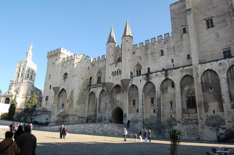 Avignon - Palace of the Popes - Avignon