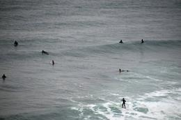 Surfers trying to catch a wave , Jill - September 2014