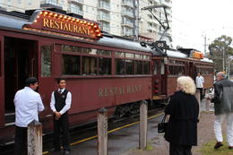 Colonial Tramcar Restaurant Tour of Melbourne, Emma - September 2011