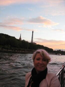 On the Seine river tour before heading to Moulin Rouge. , Jacqueline M - July 2014