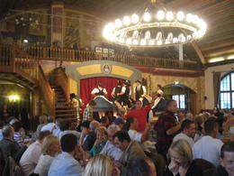 Music, dance, good food and drink at the Hofbrauhaus, Munich., David F - June 2010