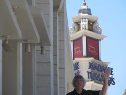 At the Venetian Hotel, Cyndi - June 2012