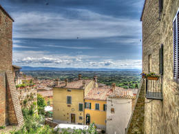 View from Montepulciano , Greg - May 2014