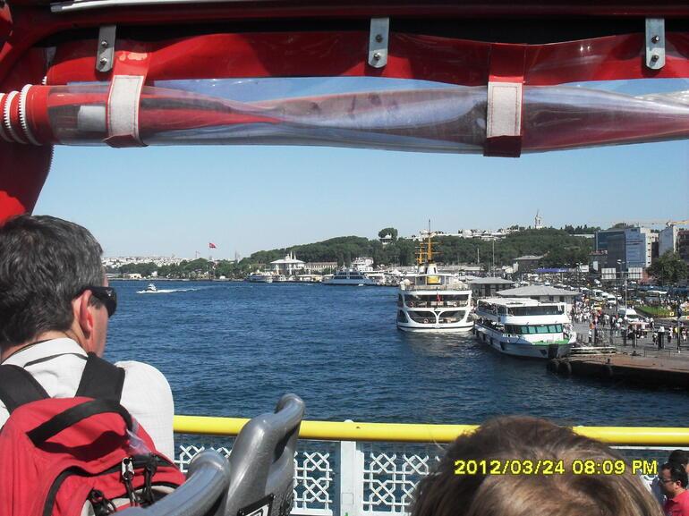 On the bridge.... - Istanbul