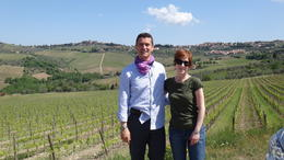 A great guide. We were sorry to have the tour end. Tiberio made the day absolutely wonderful. , Vincent R - May 2011