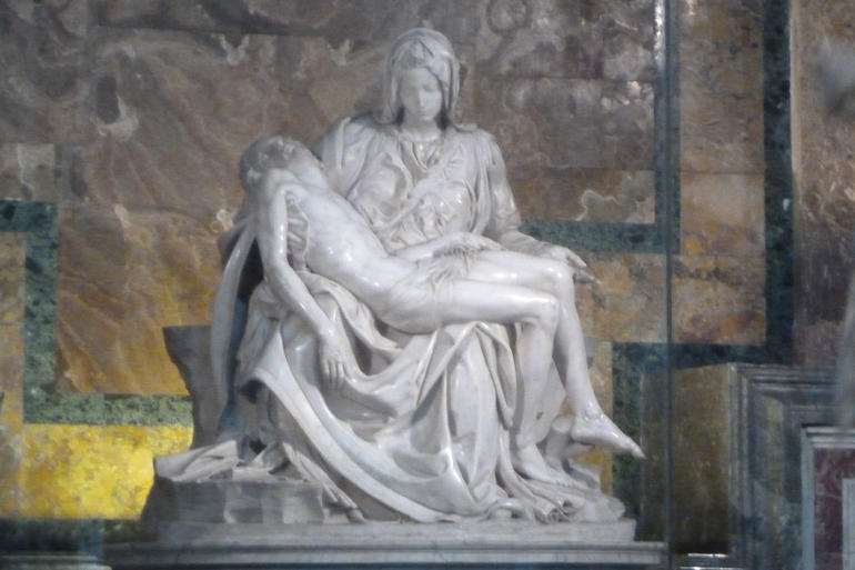 Pieta by Michelangelo - Rome