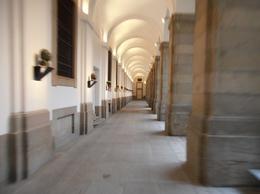 Reina Sofia hallway, JC - March 2012