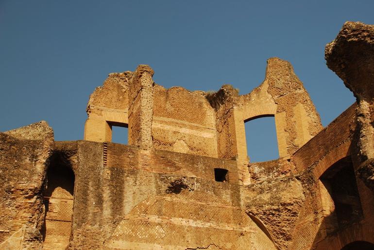 Ruins at Hadrian's Villa - Rome