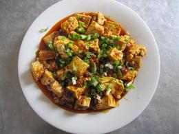 Tofu dish - May 2012