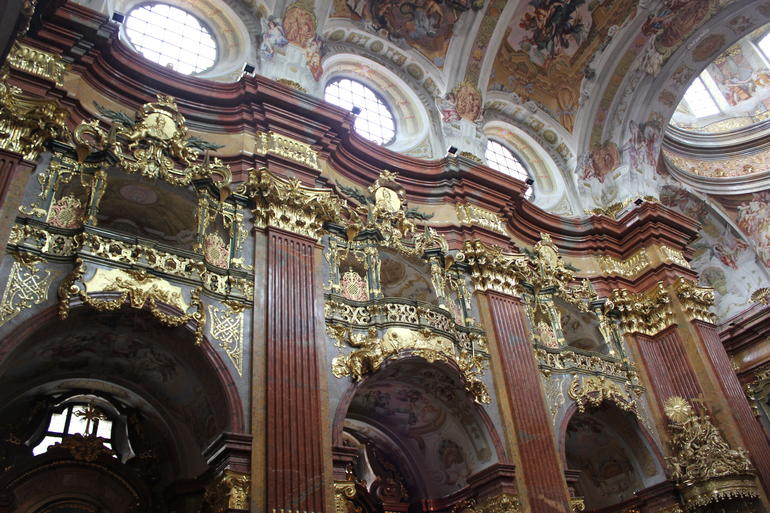 the abbey of Melk - Vienna