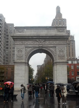 in Washington Square Park - December 2014