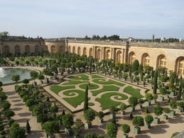The beautiful orangerie at the Palace of Versailles , Lyn - October 2013