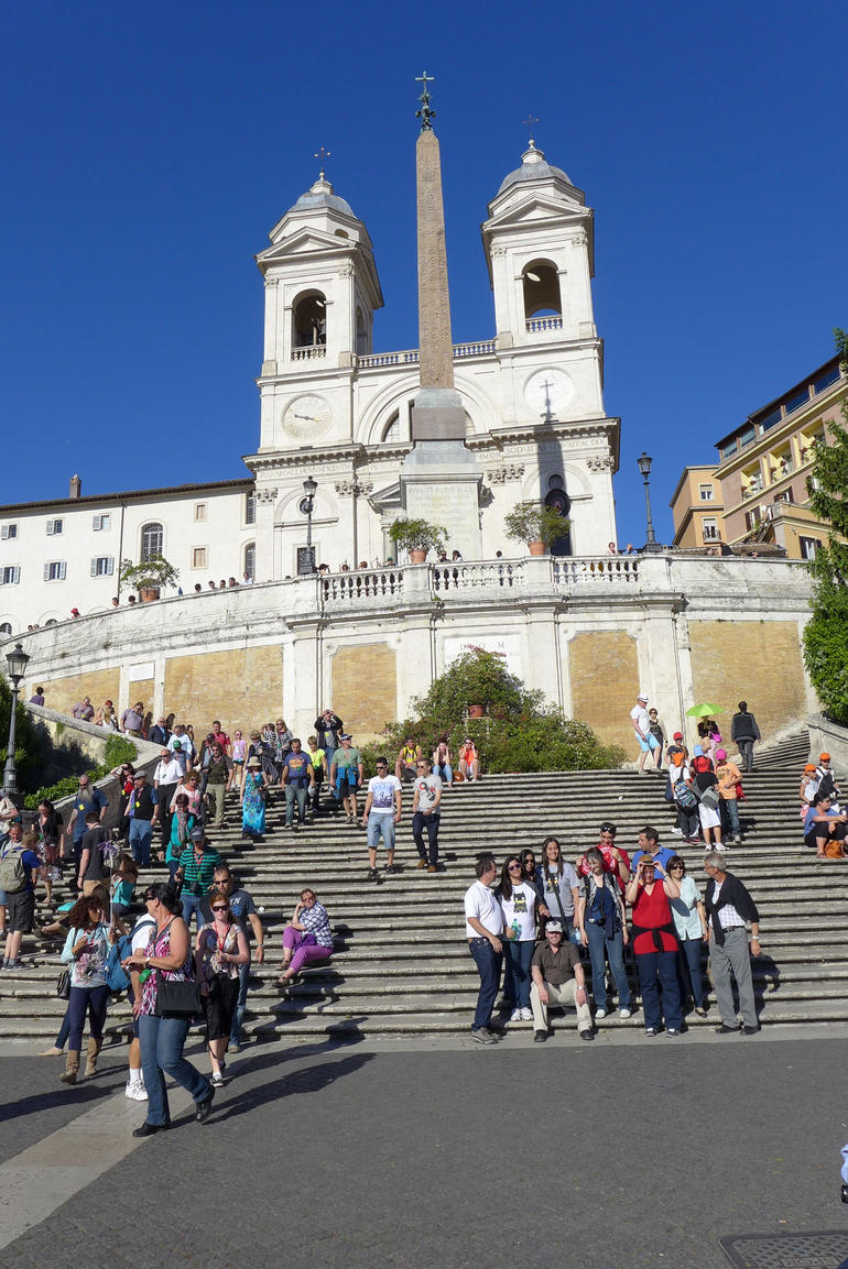 The Spanish Steps - Rome