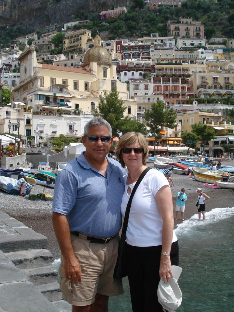 Waiting for the boat at Amalfi - Rome