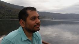 Contemplating the beauty of Laguna de Apoyo. , Josue A - December 2016
