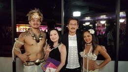 Photo with the dancers after the show. , Anthony - March 2017