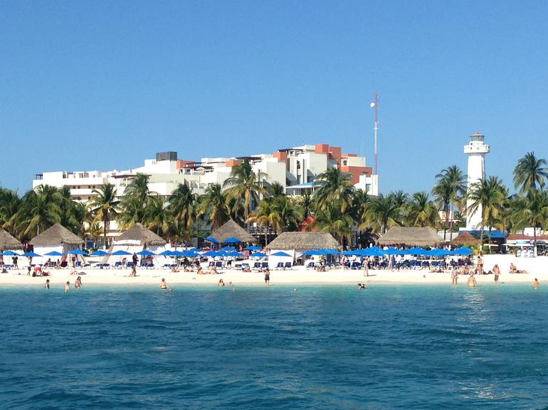 Sightseeing, Snorkeling, and Dancing Catamaran Cruise from Cancun photo 3