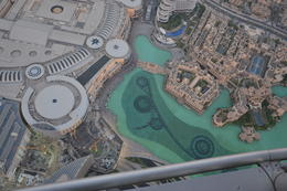 Vom Burj Khalifa. , Birgit G - September 2014