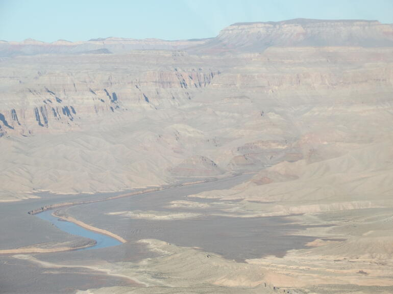 Colorado river and Grand Canyon - Las Vegas