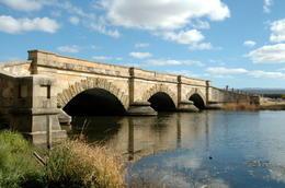 Convict-built bridge (1836), Ross, Tasmania, Australia - October 2011