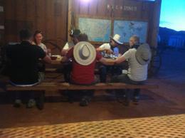 Everyone eating at Sunset , Randall N - June 2013