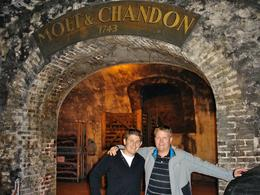 A great day with my brother spent at Moet & Chandon., Carel A - September 2010