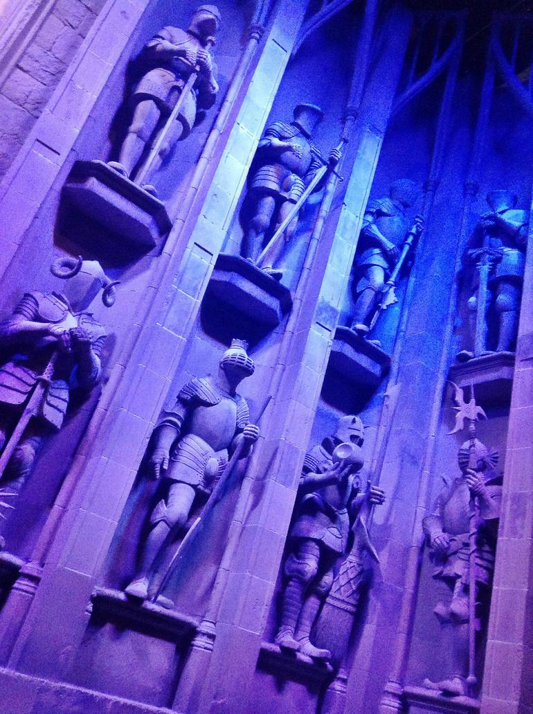 Entering Hogwarts - London