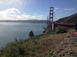 Golden Gate Bridge - one of the many places of interest we visited on the San Francisco City Tour. , Trudi M - March 2014
