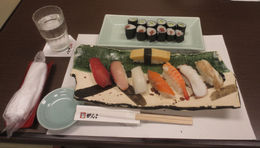 The sushi that I had made in the sushi making class. , Bill604 - November 2015