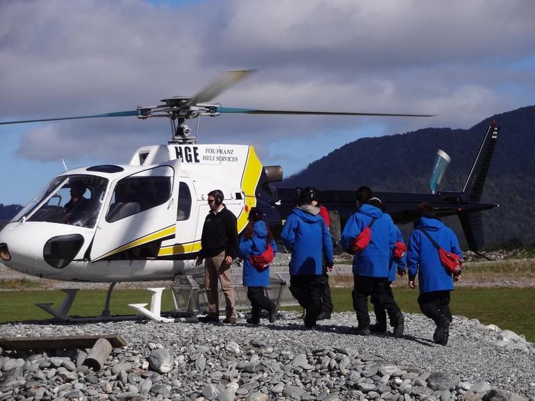 helicopter - Franz Josef & Fox Glacier