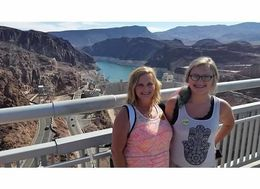 Ultimate Hoover Dam Tour VIP's on the bridge looking over Hoover Dam. Not every tour gives you the opportunity to do a bridge walk to get this photo! Great vantage point for the beginning of our ... , sherpasmom - July 2015