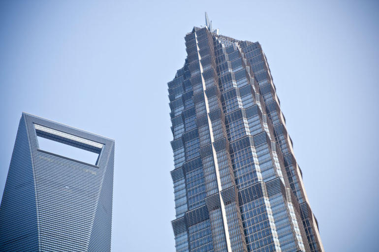 Jin Mao Tower and SWFC, Shanghai - Shanghai