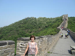 On the Great Wall!, Julie - June 2012