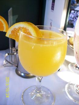One free mimosa comes with the brunch , Linda B - December 2013