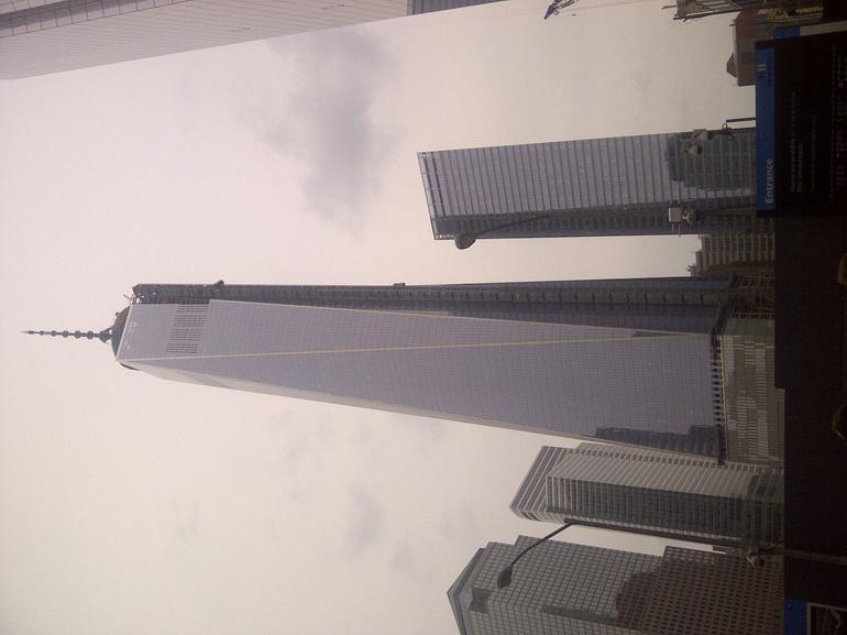 New tower at Memorial 9/11 - New York City