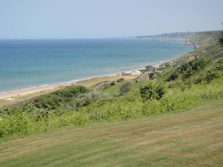 Omaha Beach from American Cemetery - Paris