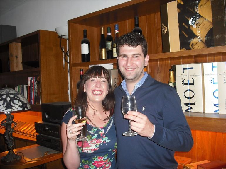 Our evening of wine tasting - Florence