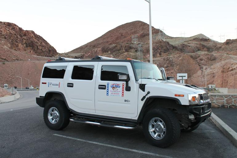 Our Hummer - Great way to see the Canyon, great tour company! - Las Vegas