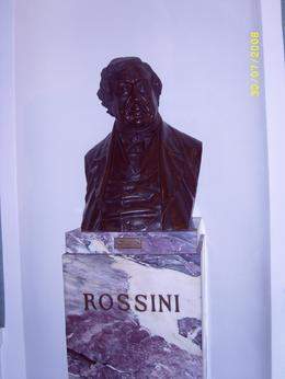 Bust of Rossigni in Lascala., ALEX F - August 2008