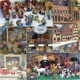 Such interesting trinkets for sale at the quaint shop windows of Rothenburg , Nirmala - October 2016