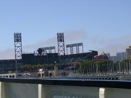 You cruise past the San Francisco baseball stadium on the cruise. - May 2008