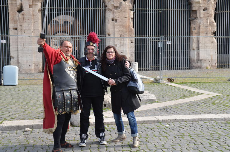 Spaß vor dem Coloseum - Rome