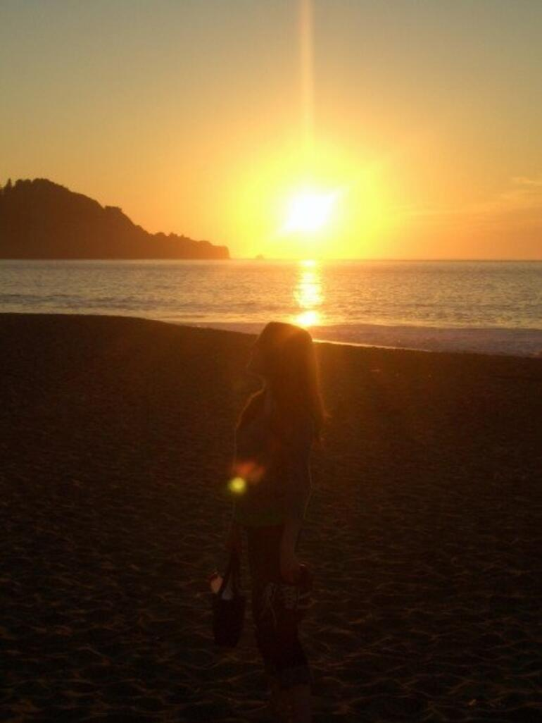 Sunset at Baker Beach -